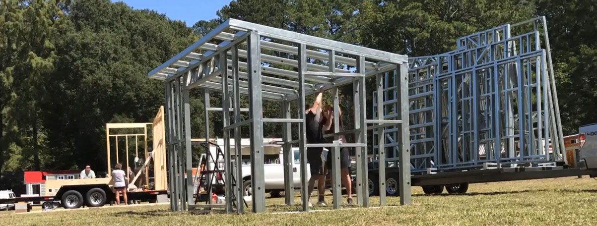 Volstrukt steel framing kits